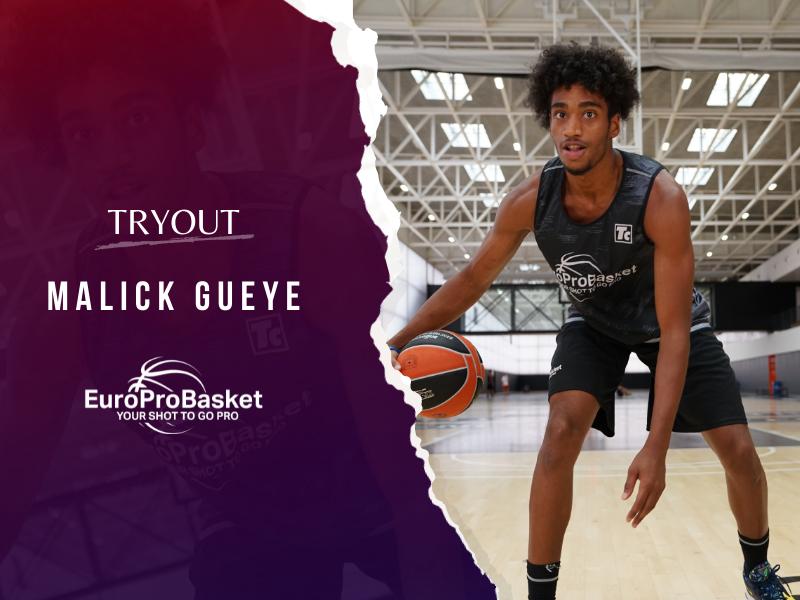 EuroProBasket player Malick Gueye on Tryout in Catalunya