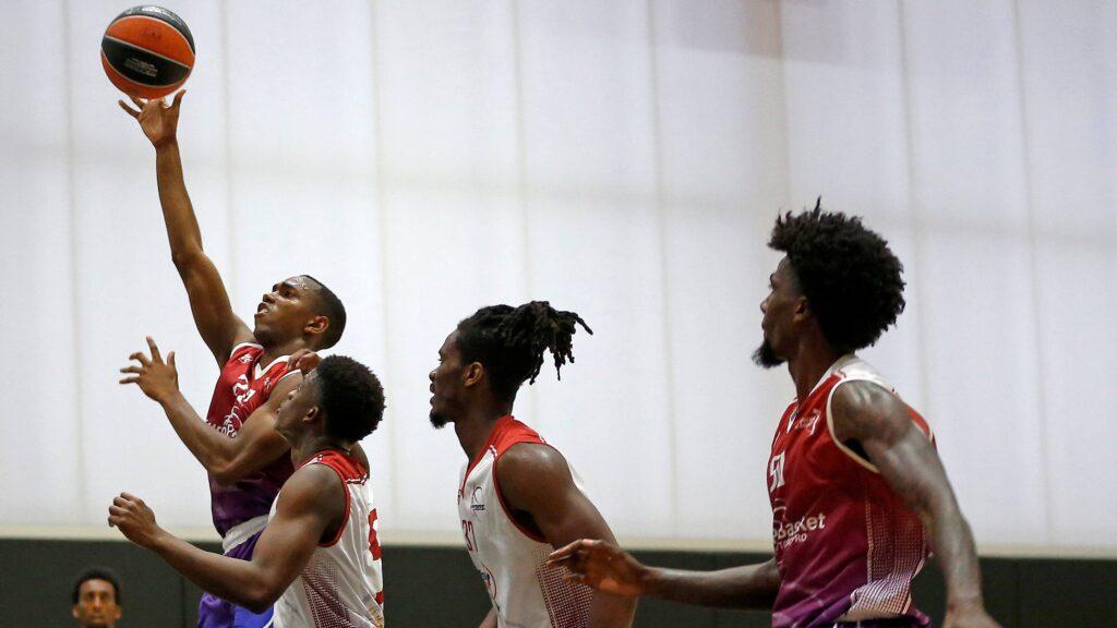 Basketball Tryout George Jackson IV