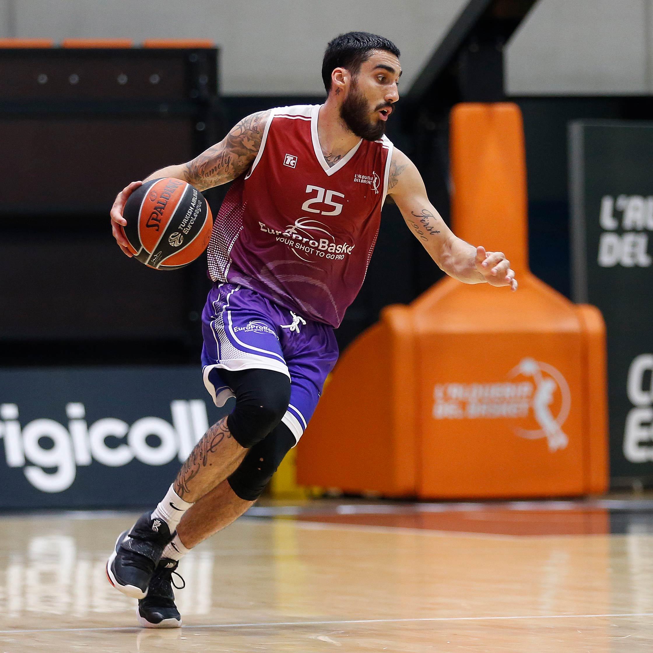 Jose Ramos EuroProBasket european Summer League