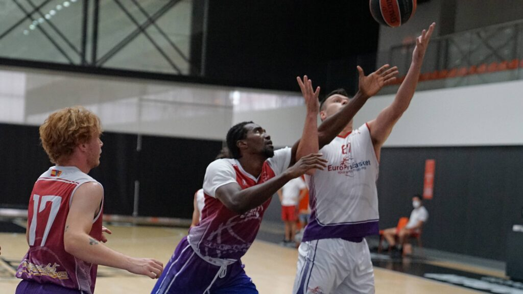 Frank Amoah Basketball Tryout