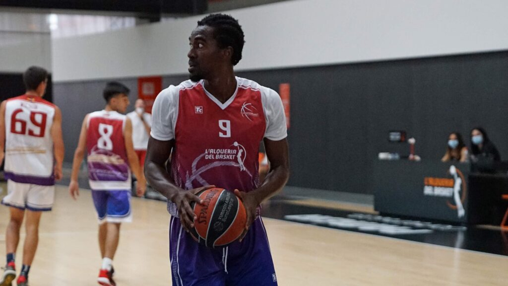 Frank Amoah EuroProBasket Tryout Spain